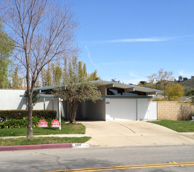 Mediterranean Mansion In Orange County With Awesome: [For Sale] Three Fairhills Eichlers