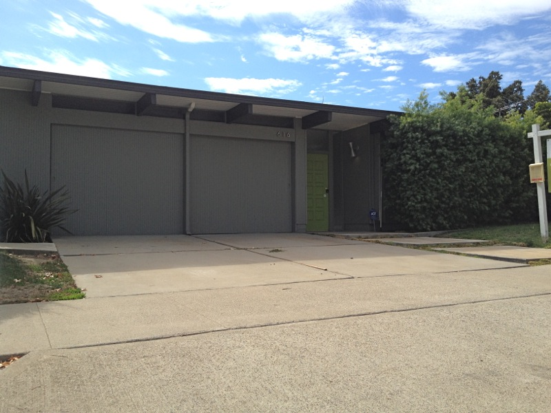 For Sale Eichler Back On The Market