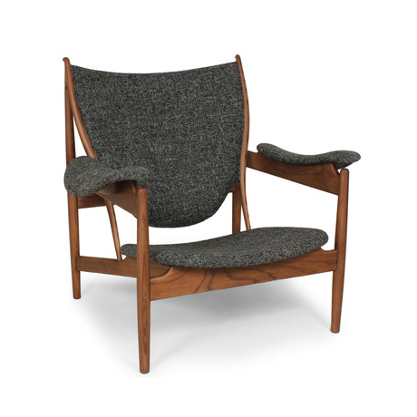 Twill and Ash Lounge Chair
