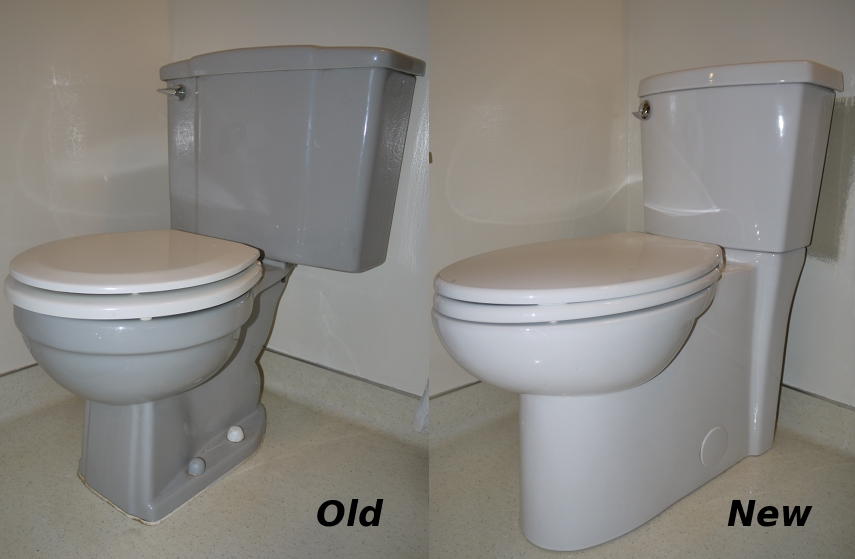 1 Old New Toilets
